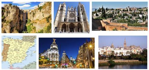 Cartina Spagna Benicassim.Guida Alle Citta Della Spagna Informazioni Citta Spagnole