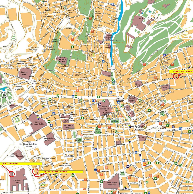 Cartina isole Spagna